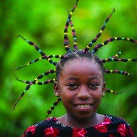 Girl, Mbomo Village