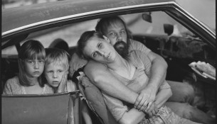 The-Damm-family-in-their-car,-Los-Angeles,-California,-1987