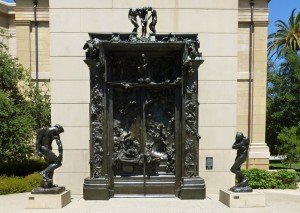Gates_of_Hell_sculpture_by_Rodin_surrounded_by_Adam_and_Eve-222