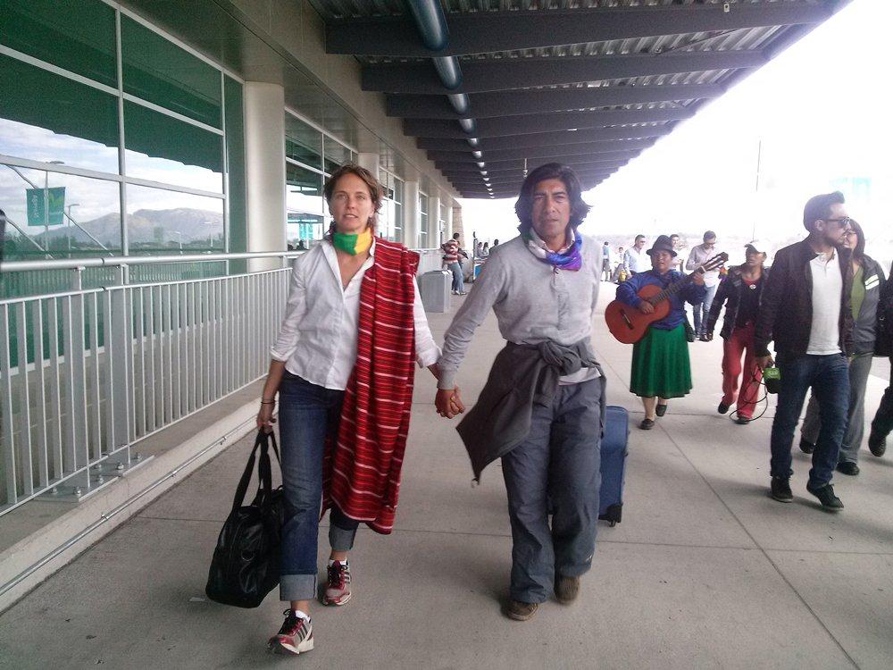 El día que Manuela abandonaba Ecuador.