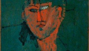 2_Modigliani_Ta¦Çte_rouge
