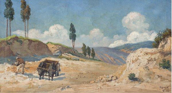 Camino del norte, José Yépez, siglo XX.