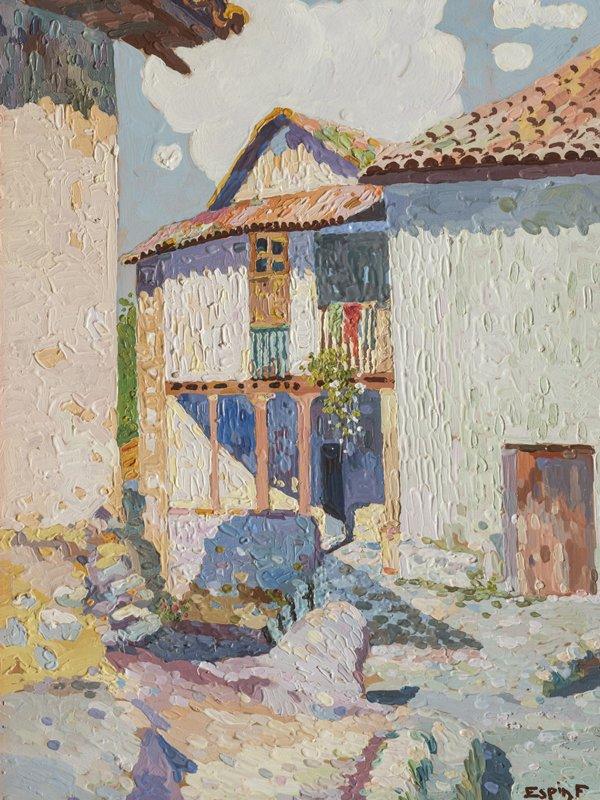 Paisaje urbano, José Espín, siglo XX.