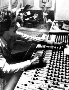 Estudio Sonox en 1982.