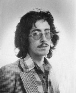 Tiempos melenudos en 1977.