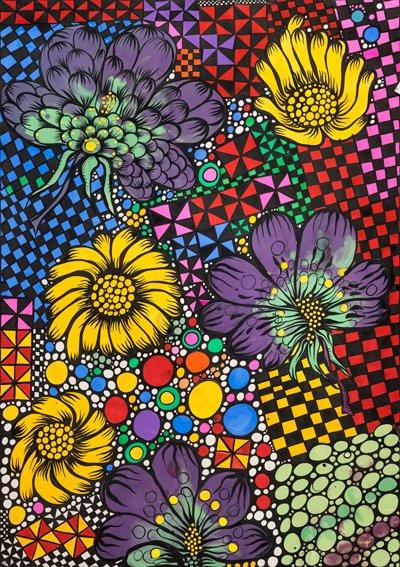 Flores negras, 2016.