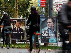 En octubre, en Austria, la derecha ganó de la mano del joven Sebastian Kurz, con la socialdemocracia en plena caída.