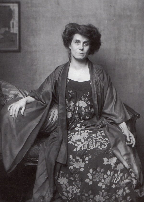 Berta Zuckerkandl, famosa salonnière vienesa.