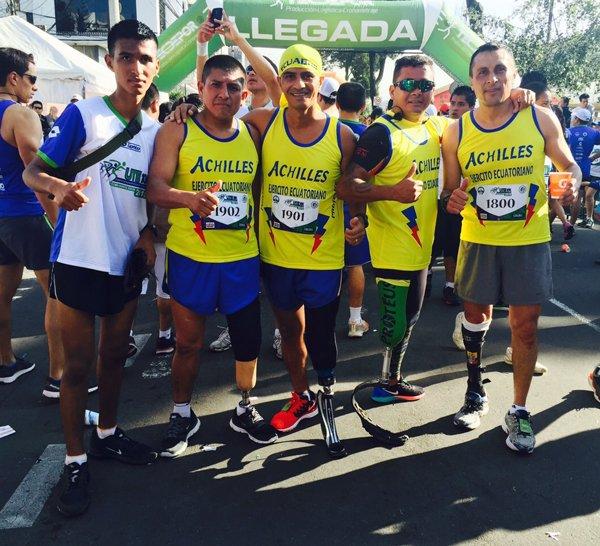 Pasadas la depresión y el alcoholismo debido a su discapacidad, Ángel se convirtió en un deportista de élite que ha dejado en alto el nombre del Ecuador en varias  competencias.