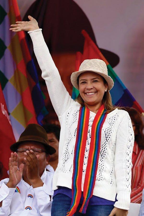 En las elecciones de 2017 se presentó como representante de Pachakutik a la Asamblea.