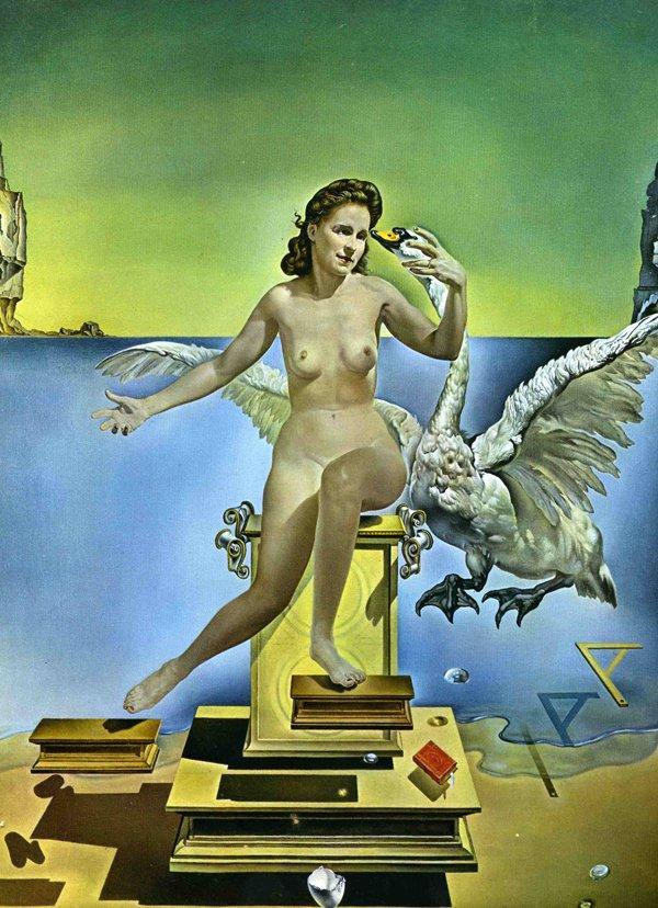 Leda Atómica,1949, Figueres.