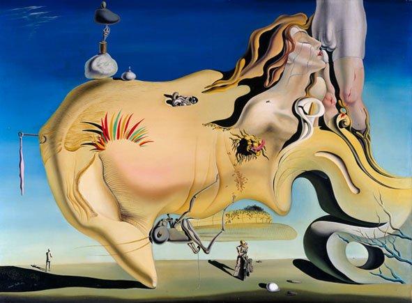 El gran masturbador , Óleo, 1929, Museo Reina Sofía.