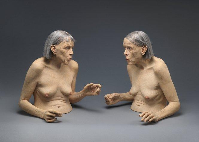Las Silbadoras, cerámica. Tip Toland, 2005.