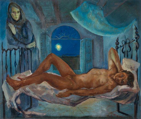 Blues in the night, Eduardo Solá Franco, 1949.