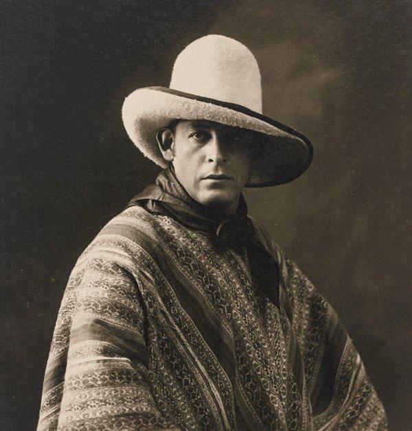 Retrato del pintor José Sabogal, Cusco, 1925.