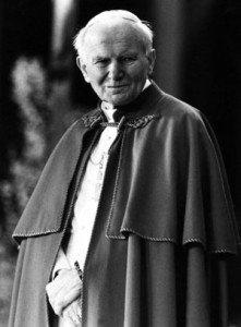 """Juan Pablo II fue elegido hace 40 años como el """"papa polaco""""."""