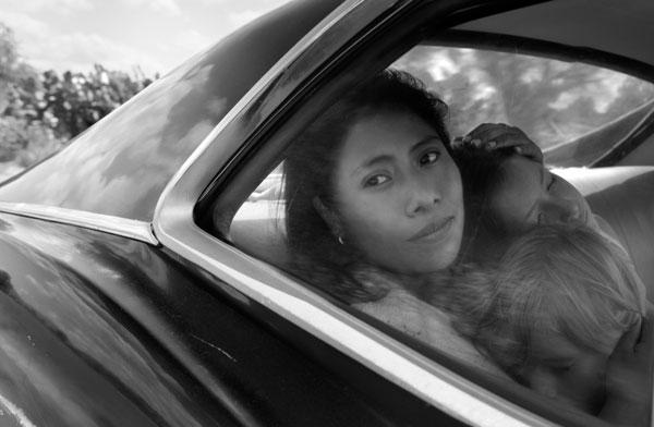Cleo, interpretada por Yalitza Aparicio, cuya actuación ha dejado sin palabras al público.