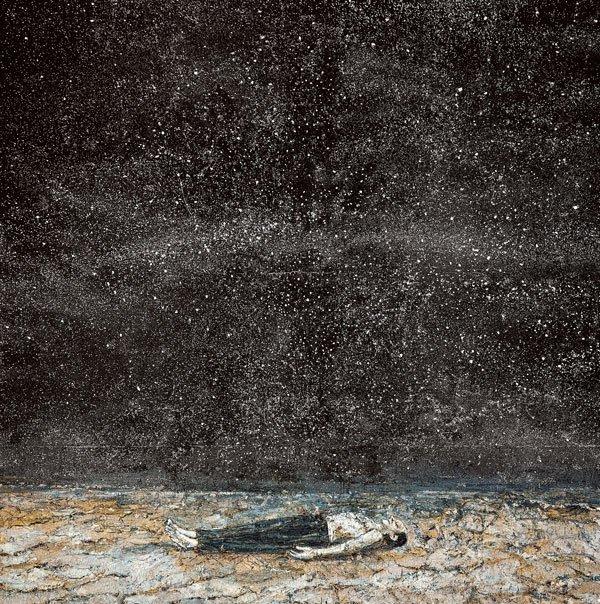 LAS CÉLEBRES ÓRDENES DE LA NOCHE, 1997, Anselm Kiefer, acrílico y emulsión sobre lienzo.