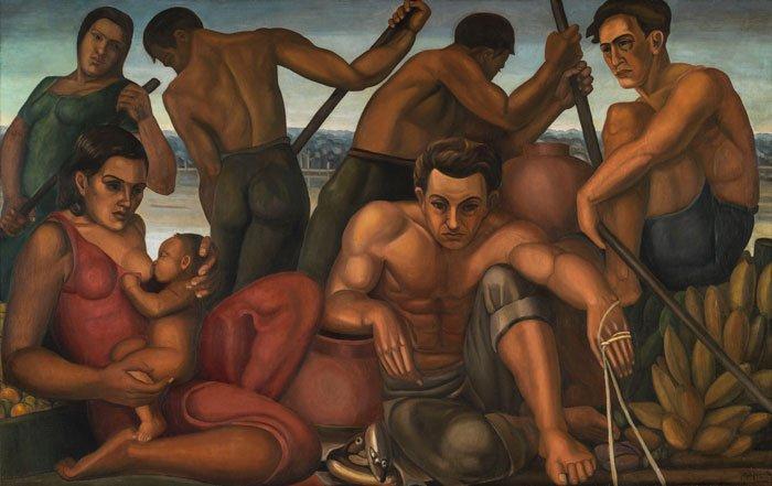 Pescadores del Magdalena, Alipio Jaramillo, ca., 1940.