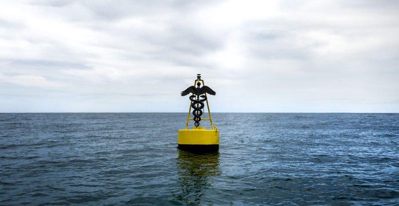 Mar cerrado, 2016.