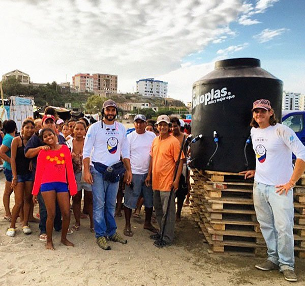 Fundación Amor 7.8. Ayuda humanitaria para las víctimas del terremoto en el Ecuador.