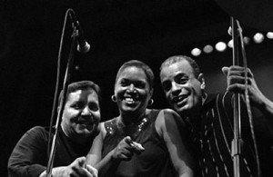 Marco Bermúdez, Cita Rodríguez y Frankie Vásquez.