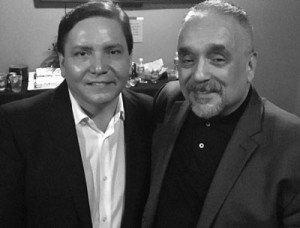 Con Willie Colón.