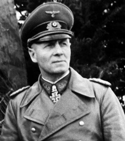 El mariscal de campo Erwin Rommel fue el general más famoso del Tercer Reich.