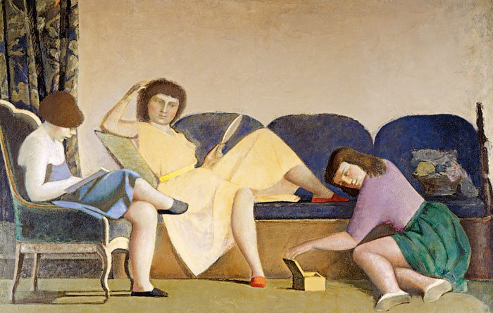 Las tres hermanas, 1955.