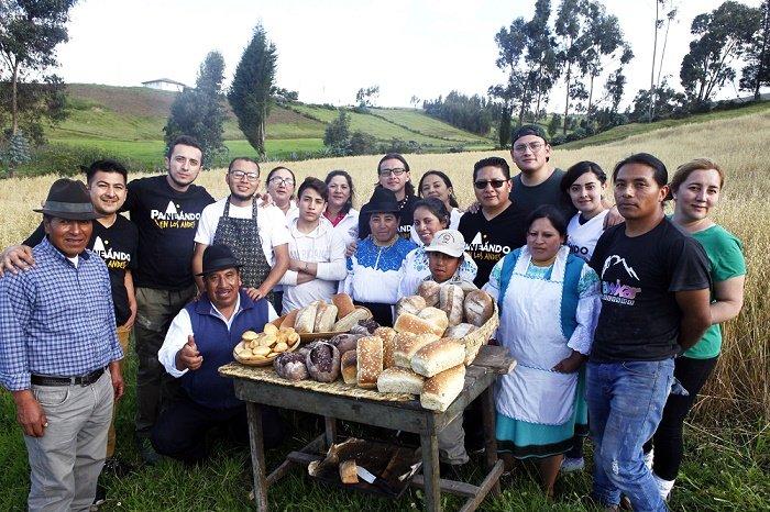 Paneando en los Andes. Angochagua, ptovincia de Imbabura, comunidad de Chilco.