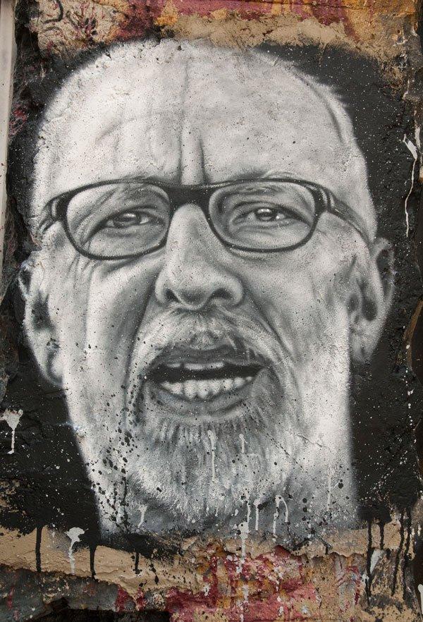 Autorretrato, Jörg Immendorff.
