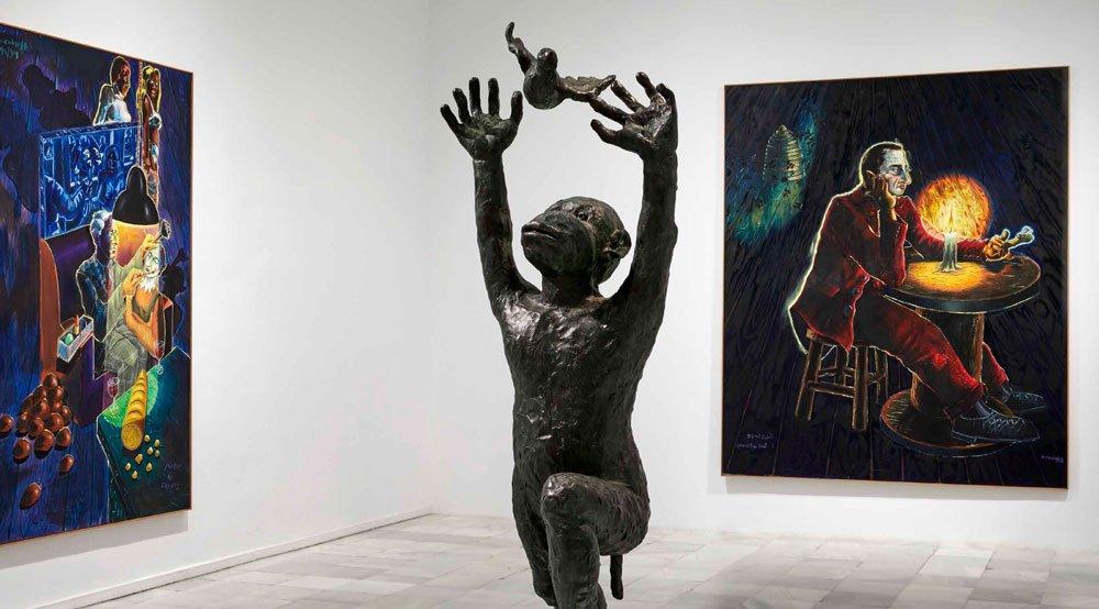 La exposición del Museo Reina Sofía repasa cuatro décadas del pintor alemán, uno de los más influyentes, controvertidos y reivindicativos del siglo XX.